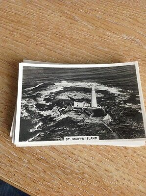 Cigarette Card Senior Service Britain From The Air St Mary's Island No 42