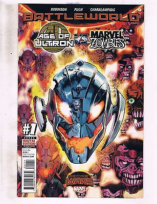 Lot Of 4 Age Of Ultron Vs. Marvel Zombies Comic Books # 1 2 3 4 NM 1st Print RF3