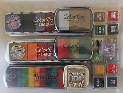 Assorted Craft Products Colorbox Ink Pads