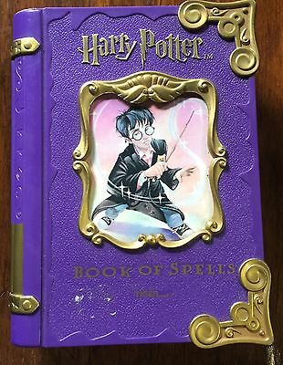 Harry Potter Book of Spells Electronic Organizer Game Tiger Electronics 2001