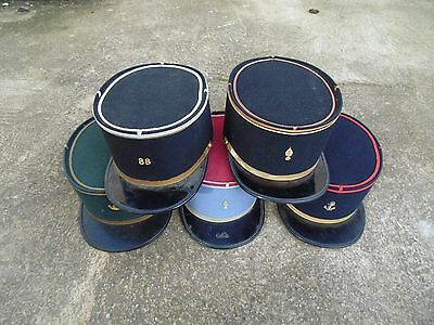 Lot 5 French Hat Cap Post War Colonial Infantry