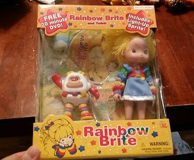 Rainbow Brite Doll and Twink with DVD