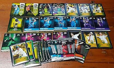Bulk Lot x 76 TAP N PLAY 2016/17 Cricket GOLD SILVER BEST of BASH MM Cards BBL
