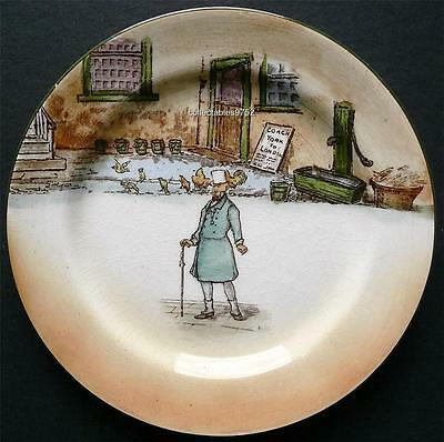 ROYAL DOULTON DICKENS WARE PLATE depicting 'Mr Micawber'