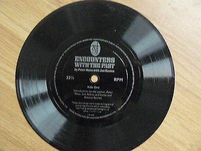 Encounters Of The Past-Peter Moss With Joe Heeton -Rare 7Inch Plastic 33Rpm Rec