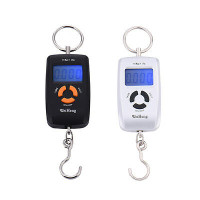 Mini 45kg Electronic ScaleLCD Digital Hanging Luggage Weight Double-precision