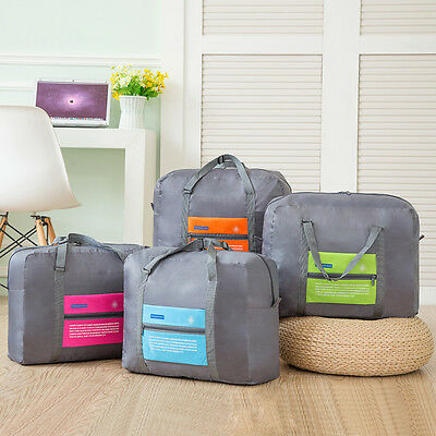 Big Size Travel Foldable Luggage Suitcase Carry-On Duffle Bag Clothes Storage