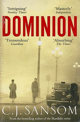 Dominion BRAND NEW BOOK by C. J. Sansom (Paperback, 2013)