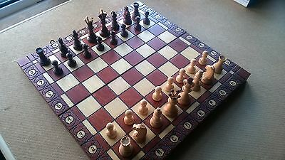 Handcrafted Wooden Chess Board