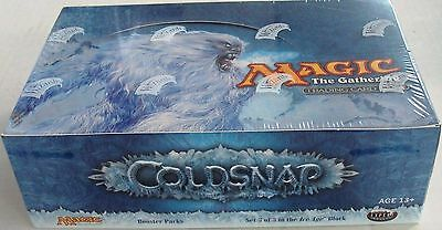 MTG Coldsnap Booster Box Sealed Italian