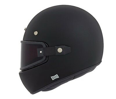 Nexx XG 100 Vintage Retro Full Face Motorcycle Helmet - Purist Matt Black