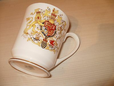 Aynsley Mug To Commemorate Investiture Of H R H The Prince Of Wales 1969