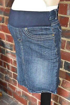 CHIC by EGG Maternity Denim Skirt - Size 00 (6) - EUC