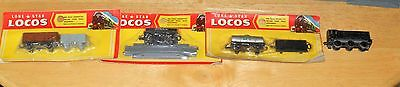 Lone Star 000/N gauge mixed goods train set two engines & double (not electric)