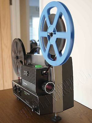 HANIMEX 808D Dual Gauge SUPER 8 8MM CINE PROJECTOR