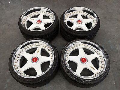 SSR Koenig 19 x 10.5 +4 C Disc 19 x 12 +10 F disc 5x114.3 with Good year tyres
