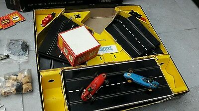 Scalextric Model Motor Racing, Vintage, Set 55 - boxed with all paperwork
