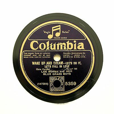 """LEE MORSE """"Let's Do It, Let's Fall In Love"""" COLUMBIA 5359 [78 RPM]"""