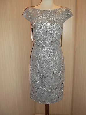 Veromia Occasions Dress Size 12 Mother Of The Bride Brand New Grey
