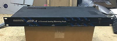 New Botex Adp-4 4 Channel Analog Dimmer Pack Dj Disco Karaoke