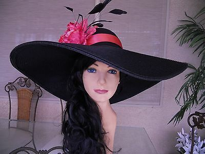 Kentucky derby hat coral