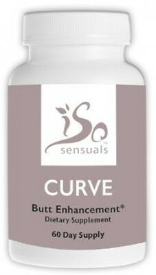IsoSensuals Curve Butt Enlargement Pills (60 Capsules)