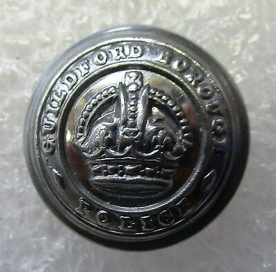 Obsolete Button - Guildford Borough Police KC Small