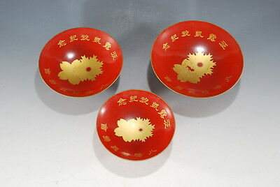 Japanese Army Navy Military Overwhelm Russia Triumph memory Lacquer Sake Cup SET
