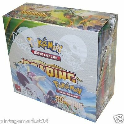 Pokemon XY Roaring Skies Sealed Booster Box of 36 Packs - Trading Cards