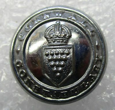 Obsolete Button - Cornwall Constabulary KC Small