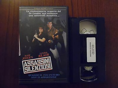 Assassini silenziosi (Sam Jones, Linda Blair, Jun Chong) - VHS Eagle rarissima