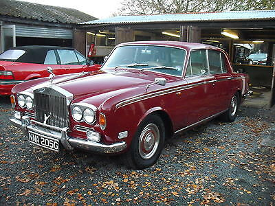 Rolls - Royce Silver Shadow 1 1969 6.2 3 Speed Auto Tax Exempt Red Saloon V8 SY