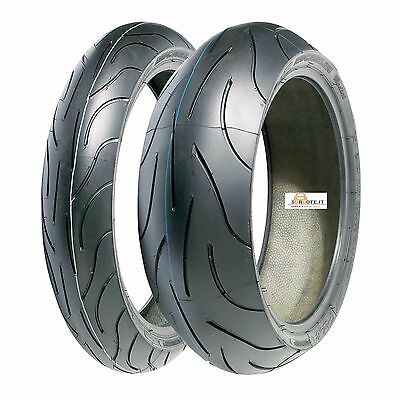 Coppia Pneumatici Michelin Pilot Power 2Ct 120/70 Zr 17 58W 190/50 Zr 17 73W