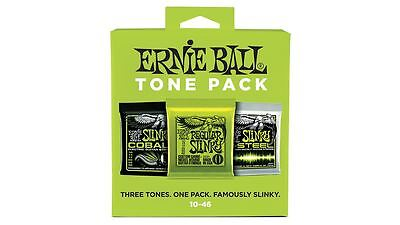 NEW Ernie Ball Electric Tone Pack Guitar Strings 10-46 - 3331