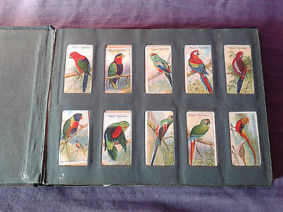 Vintage collection of Cigarette Cards in album