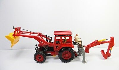 Britains Volvo 2654 Tractor With Attachments Mint Unboxed Scarce !