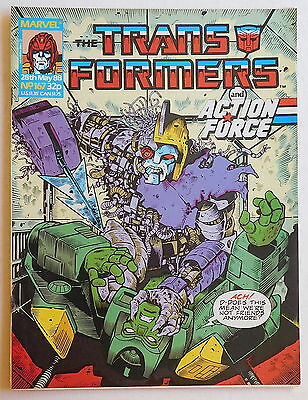 TRANSFORMERS COMIC #167 - 28th May 1988 - Marvel UK, Action Force