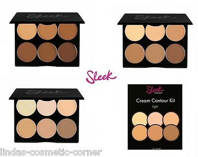 Sleek Make Up Cream Contour Kit - Choose From 3 Shades- The Next Generation
