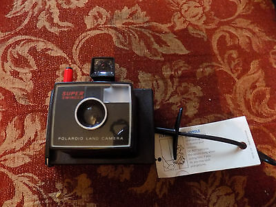 Polaroid Land Camera SUPER SWINGER NEW with tag Vintage RARE Collectors