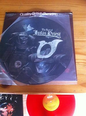 Judas Priest lp - PICTURE DISC Best of - Ltd Edition 1976