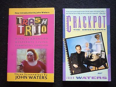 John WATERS - 2 autographed books