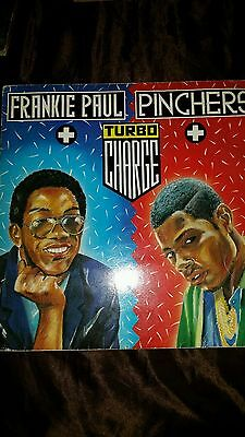 Pinchers & Frankie Paul TURBO CHARGE LP fr 1988