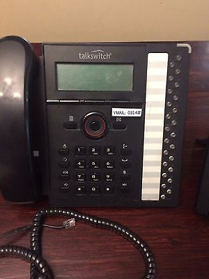 TALKSWITCH TS-550i IP Phone FortiNet FortiVoice