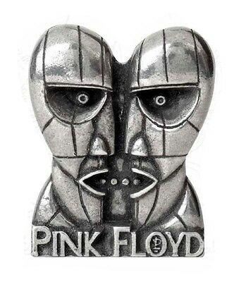 Pink Floyd Division Bell logo Alchemy Rocks Pewter Pin Badge.