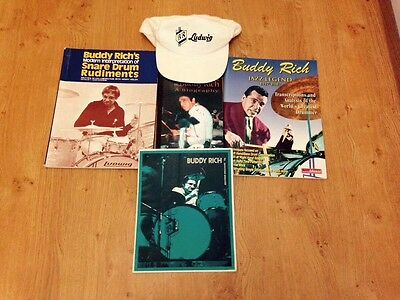 Buddy Rich Fan Collection: Autograph, Ludwig Cap. Biography & Books, Drum, Jazz