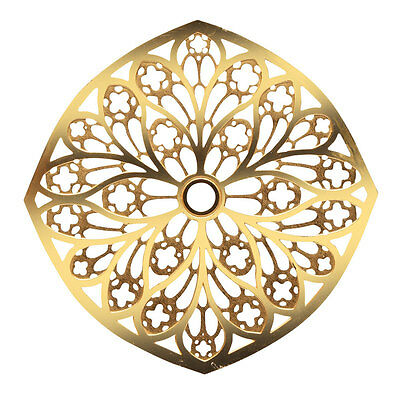 Cathedral Rose Window Brass Hanging Ornaments - Chartres