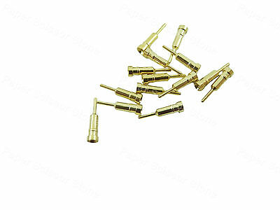100pcs IC Round Socket Pins for Component Testing for Transistor Resistor