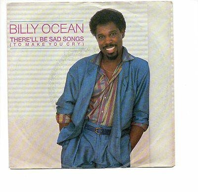Single: Billy Ocean - There'll Be Sad Songs ( To Make You Cry )