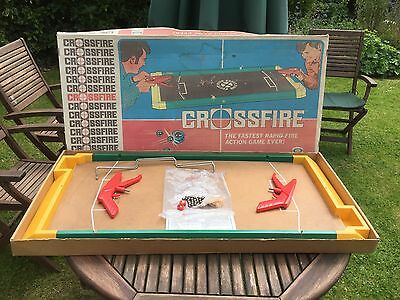 Crossfire Game 1970's Vintage. 100% Complete