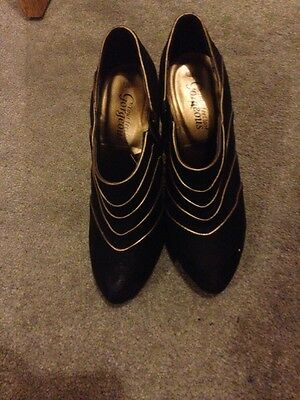 Women's New Look Black Shoe Boots Size 5